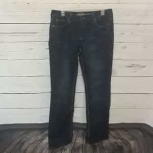 [NEW YORK & CO] SZ 10 JEANS CURVY LOW RISE BOOTCUT